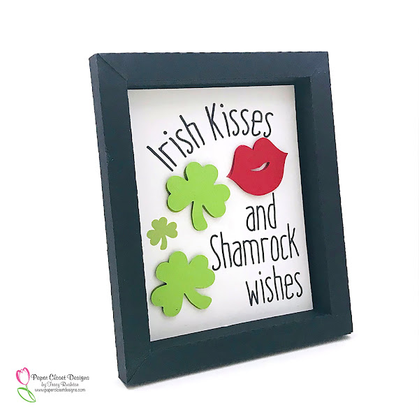 St. Patrick's Day Shadowboxes