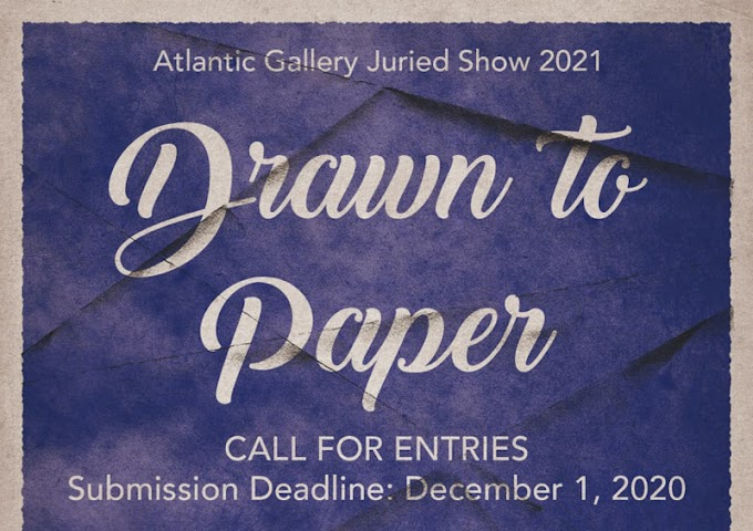 Drawn to paper at Atlantic Gallery