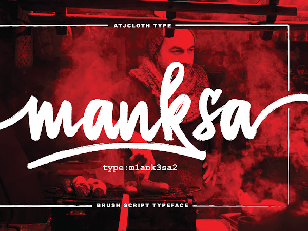 Download Manksa Brush Typeface Free