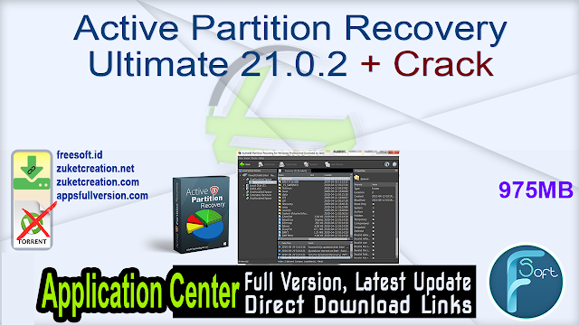Active Partition Recovery Ultimate 21.0.2 + Crack