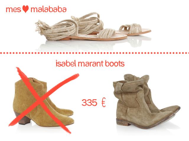 Isabel Marant boots Jenny