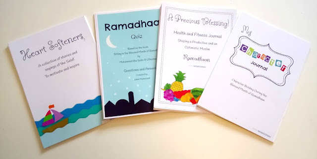 Umm Maimoonah's Ramadan Pack 2017 review from a Muslim Home School Journals