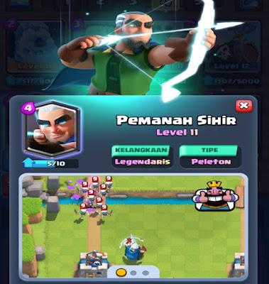 Informasi lengkap Magic archer clash royale