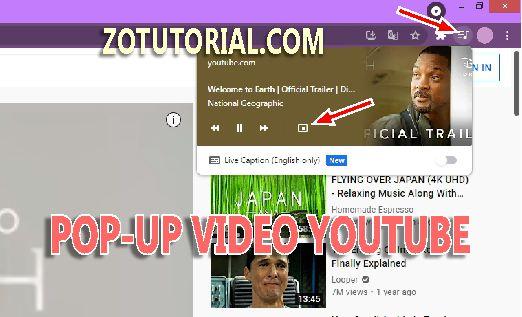 Cara Mengetik Sambil Menonton Youtube
