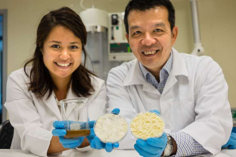 Professor William Chen and Dr Jaslyn Lee have in the past devloped method to help the planet in terms of sustainability of food production and reduction of agri-food waste.