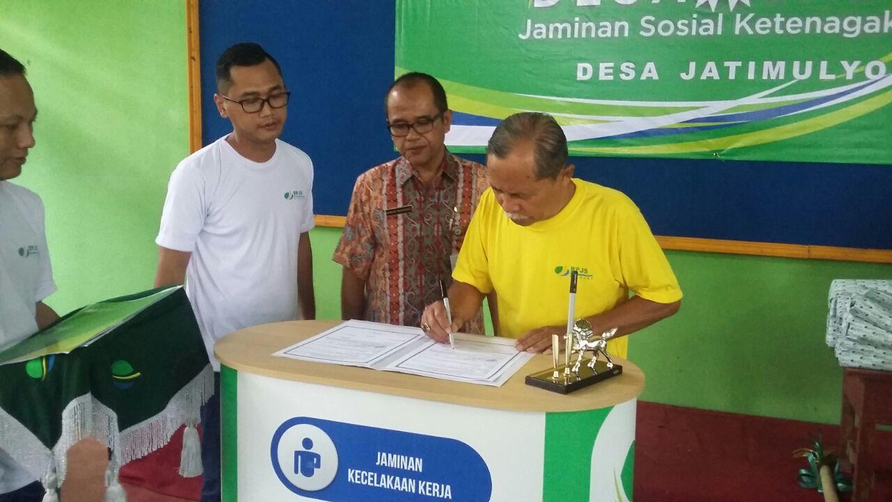 398 Desa di Kebumen jadi Peserta BPJS Ketenagakerjaan