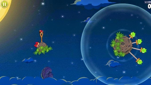 Angry Birds Space PC Games Gameplay