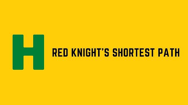 HackerRank Red Knight's Shortest Path problem solution