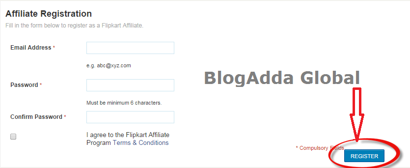 Affiliate-Registration-form