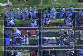 estructura zona edificio residencial simcity buildit