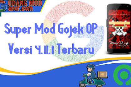 Mod Gojek Terbaru Gratis One Piece Versi 4.11.1 Terbaru No Root Root