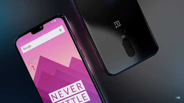 OnePlus 6 Leak-based Render shows a Gorgeous Smartphone