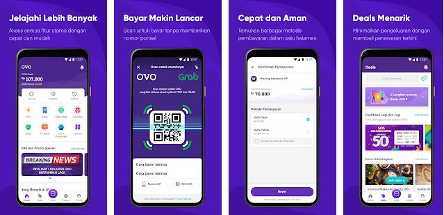 Aplikasi OVO Android