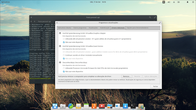 Drivers no elementary OS