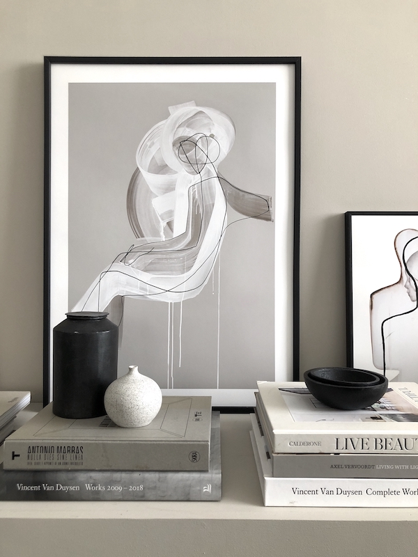 books, prints, posters, art .gallery wall