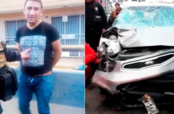 Independencia: Sujeto en estado ebriedad mata a dos personas y deja nueve heridos [Fotos]