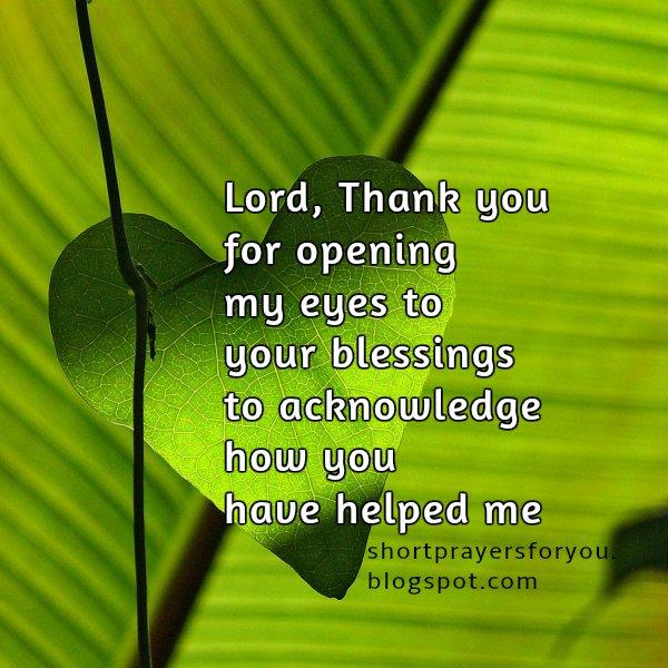 Short Prayers For You 071215