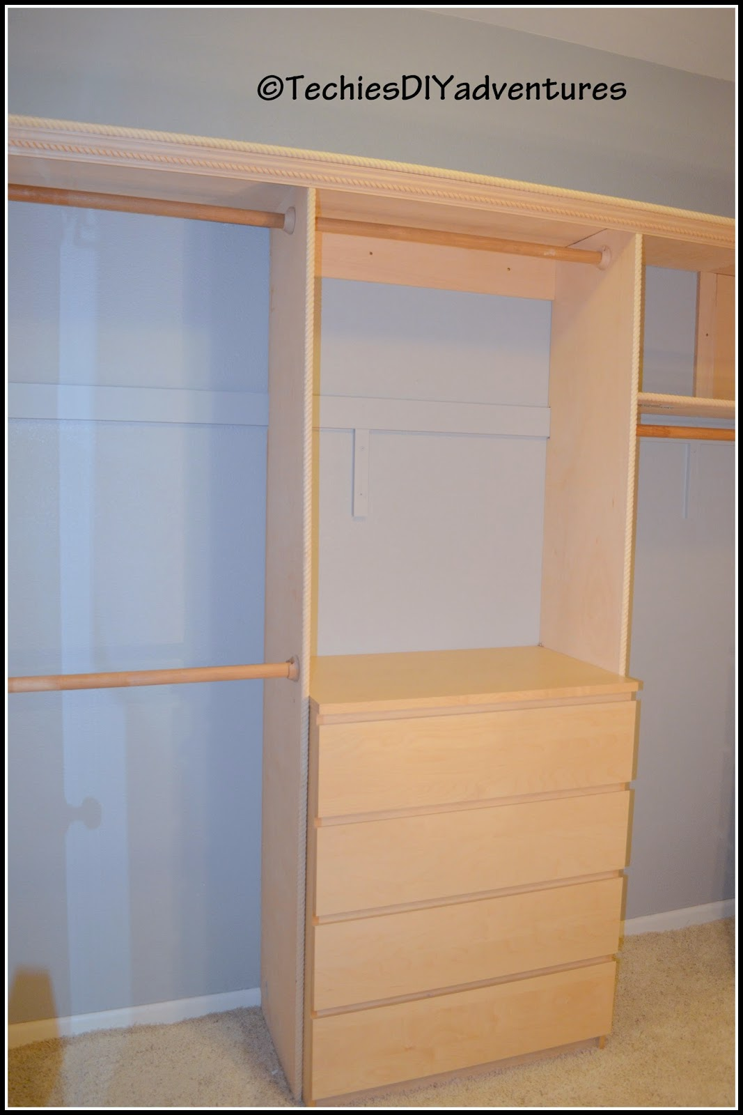 Walk In Master Closet - His Side