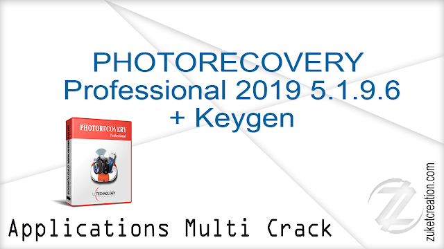 PHOTORECOVERY Professional 2019 5.1.9.6 + Keygen  |  11.9 MB