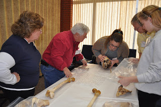 Stewards unearth the mysteries of human remains at a STAFS training.