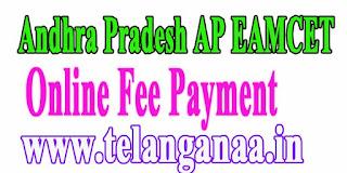 Andhra Pradesh AP EAMCET APEAMCET 2017 Online Fee Payment