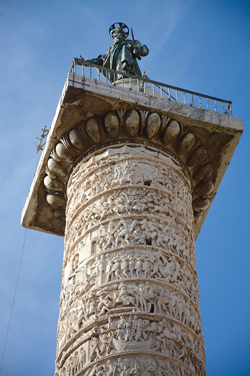 Trajan's Column in Rome, Italy | My Darling Days