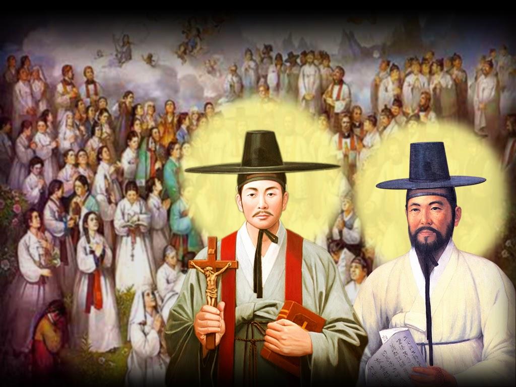 Chua Kim Thanh: THỨ 3 SAU CHÚA NHẬT XXV-C : THÁNH ANRÊ KIM, PHAOLÔ CHUNG