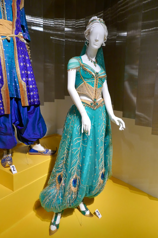 Naomi Scott Aladdin Princess Jasmine film costume