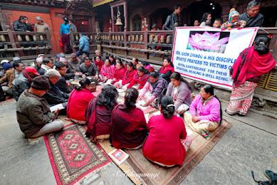 ネパール ゴールデンテンプル歓迎式典