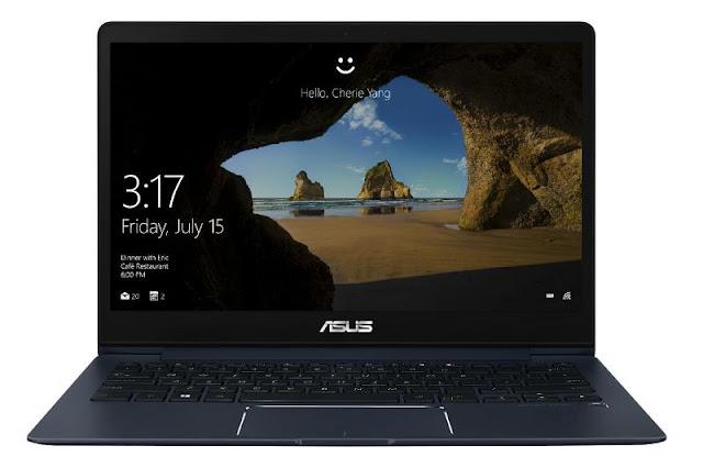 Asus ZenBook 13 UX331UN front