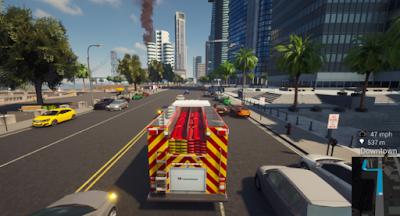 لعبة رجل الإطفاء Firefighting Simulator