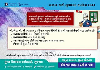 Gujarat Voter List Reform Program 2021