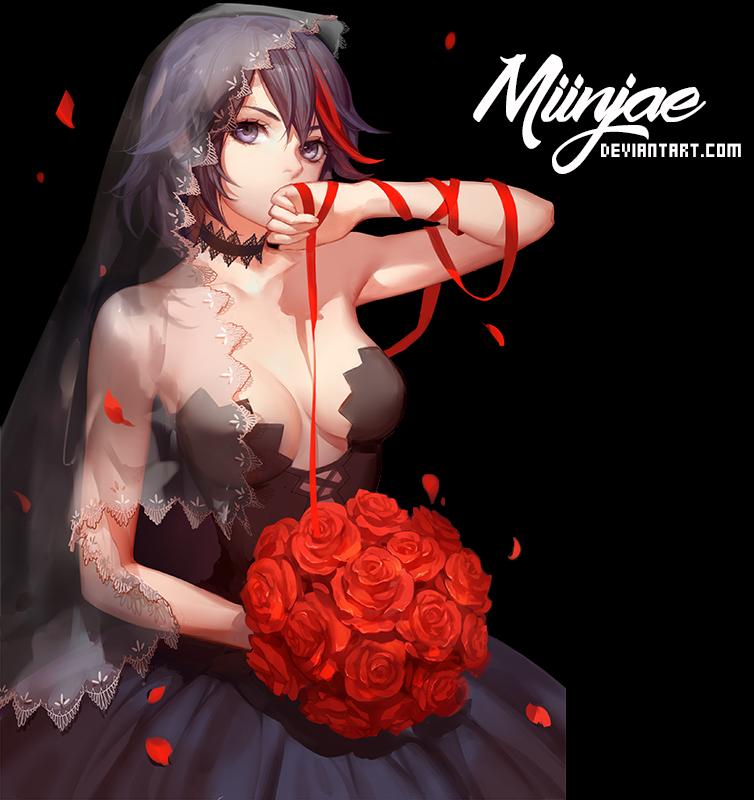 Render: Black wedding by MiinJae