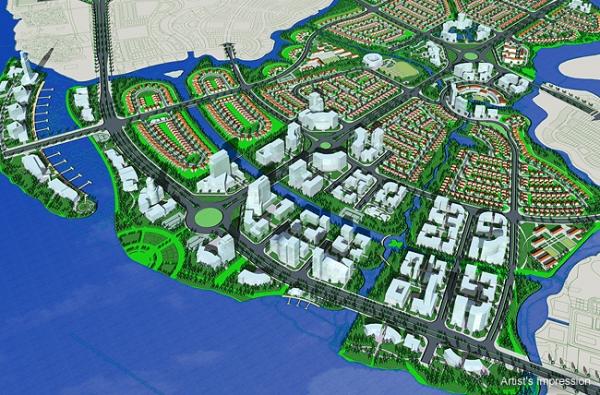 waterfront city dong nai