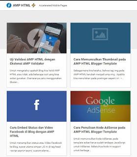 AMP HTML Blogger Template Terbaik - kanalmu