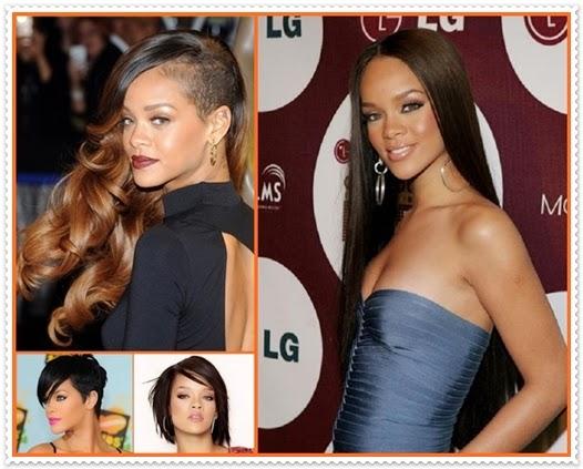 Rihanna Haare 2014