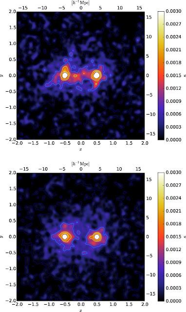 Una telaraña de materia oscura ha sido medida