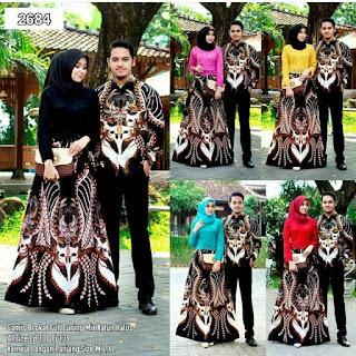 Model Sarimbit Batik Couple Brokat Modern Kombinasi Untuk kondangan Anak Muda
