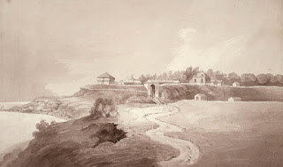 Painting: Fort at York, 1821 by John Woolford
