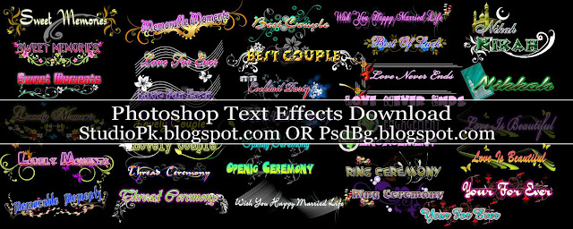 Photoshop Text Effects Download