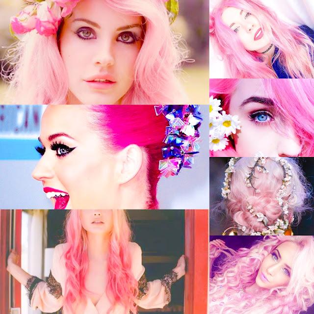 Cabelo rosa, pinkhair, hair, moda, blog da lhany, phany pinheiro, nah cardoso, niina secrets, taci alcolea bocarosa