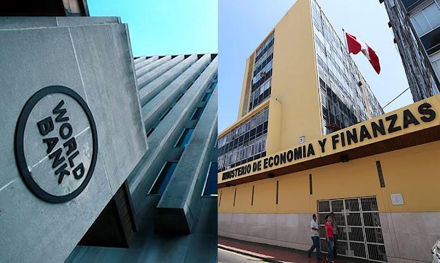 Banco Mundial, Ministerio de Economía y Finanzas