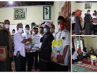 HAB Ke-75, Kemenag Lampung Utara Serahkan Bansos Pada 4 Ponpes