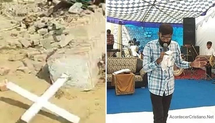 Destruyen iglesia en la India