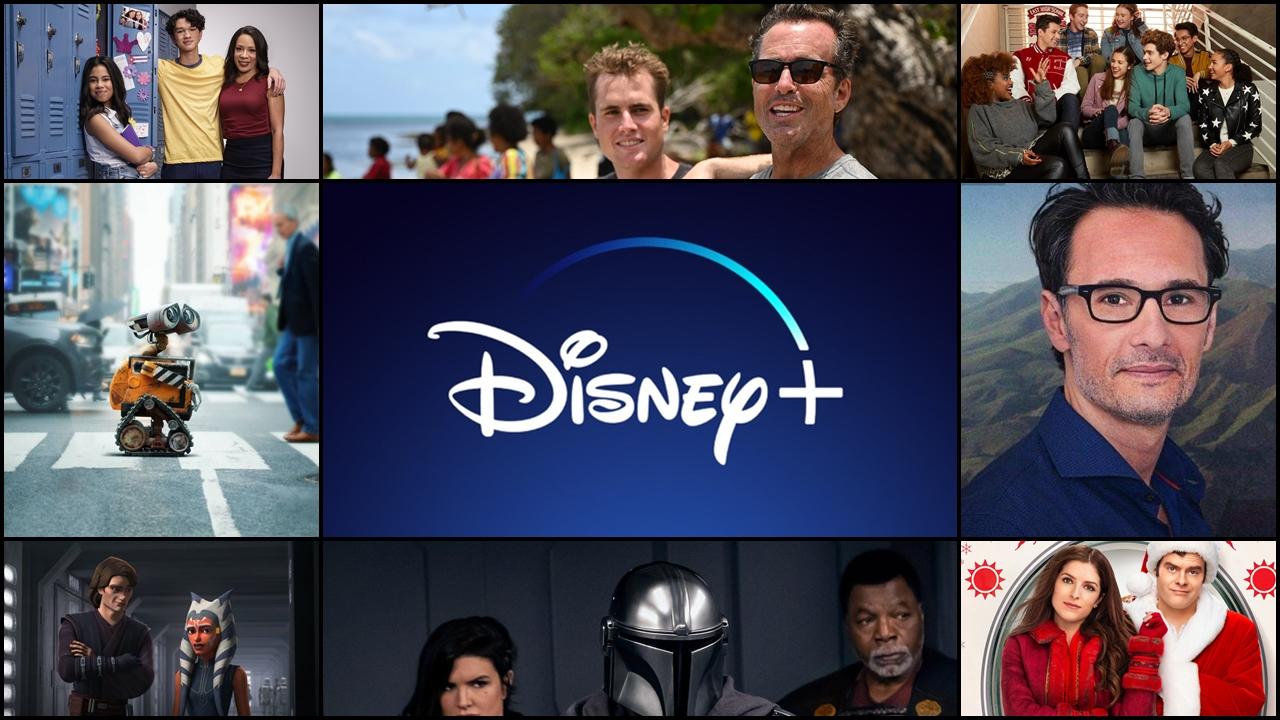 Novidades no Disney +