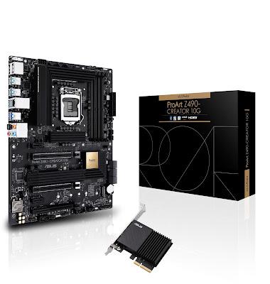 ASUS anuncia garantia premium de 5 anos para a Motherboard ProArt Z490-CREATOR 10G