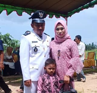 Amiruddin, Mantan Wartawan di Tanjabtim Dilantik Jadi Kades Merbau