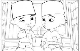 Kumpulan Gambar Mewarnai Tokoh Kartun Format Pdf Tinggal Download