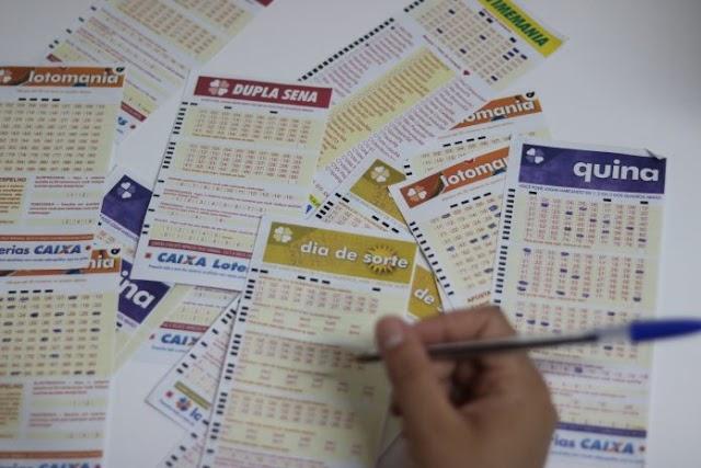 Resultados das loterias - Dia de Sorte, Timemania e outros desta terça-feira 02/06