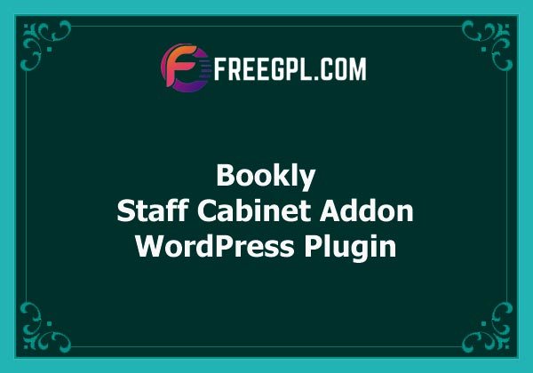 Bookly Staff Cabinet (Add-on) v3.5 Free Download